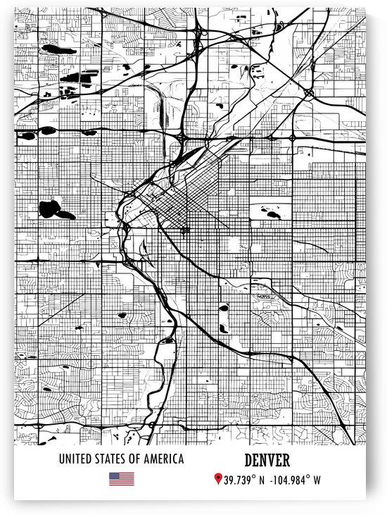 Denver USA by Artistic Paradigms