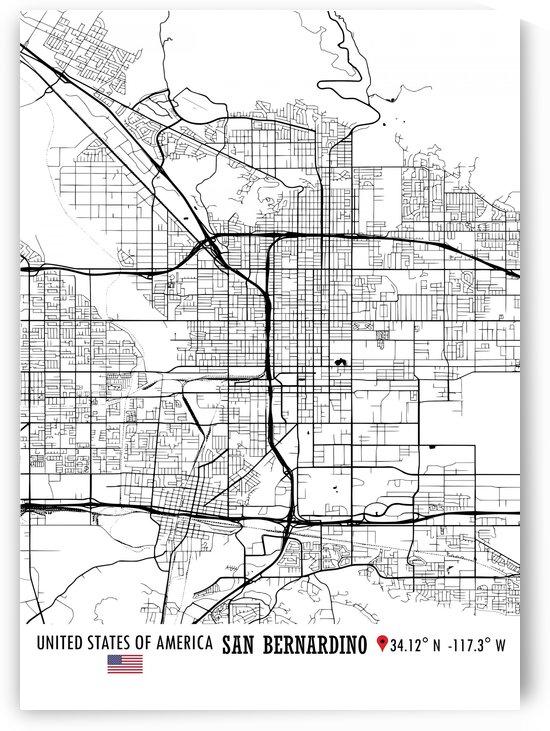 San Bernardino USA by Artistic Paradigms