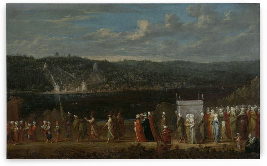 Turkish Wedding by Jean Baptiste Vanmour