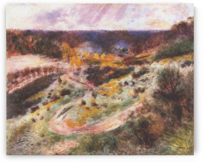 Landscape in Wargemont by Renoir by Renoir