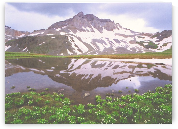 Reflections in a Mountain Tarn by Steve Tohari