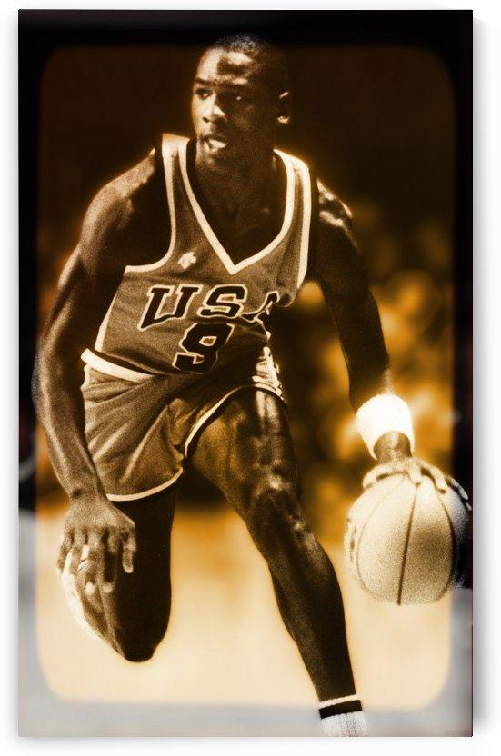 1984 Michael Jordan Team USA by Row One Brand
