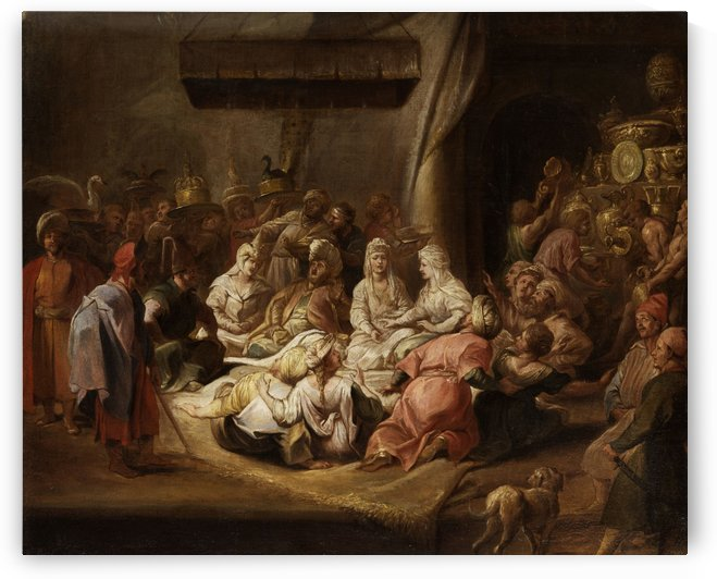 Audienz am Hofe des Sultans by Jean Baptiste Vanmour