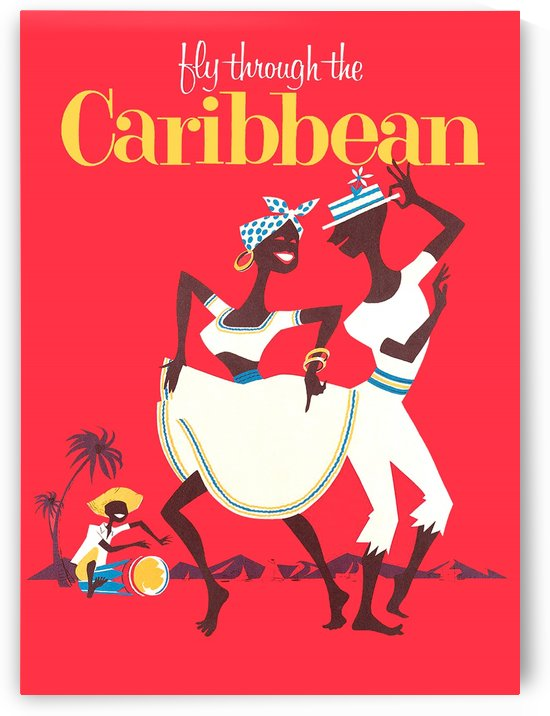 Fly through Caribbean by vintagesupreme