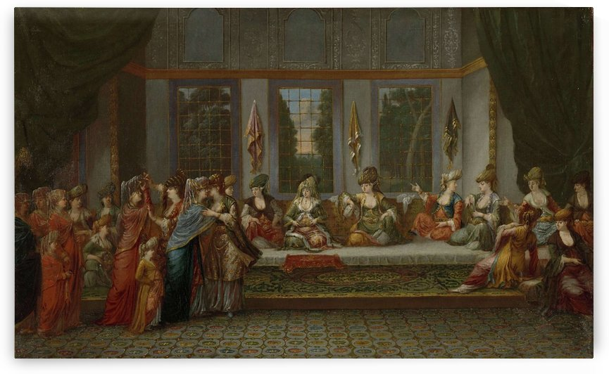 Greek Wedding by Jean Baptiste Vanmour