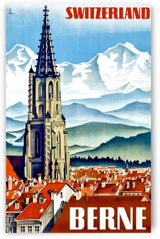 Bern Minster Cathedral by vintagesupreme