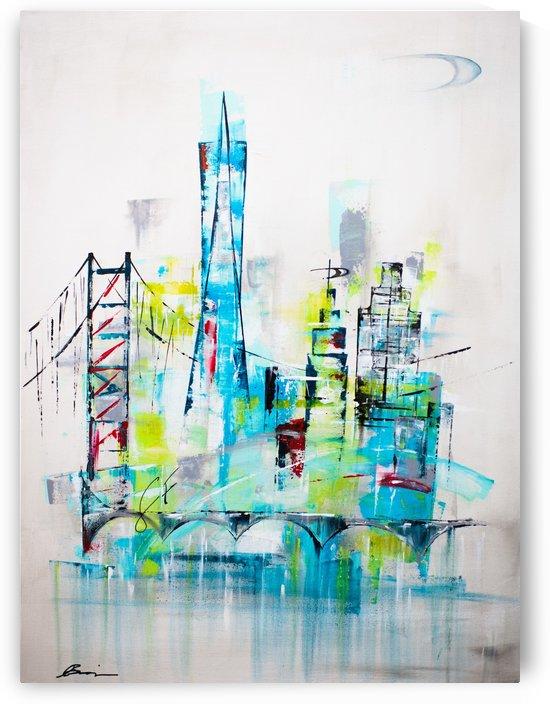 San Francisco skyline by Art Drive-In