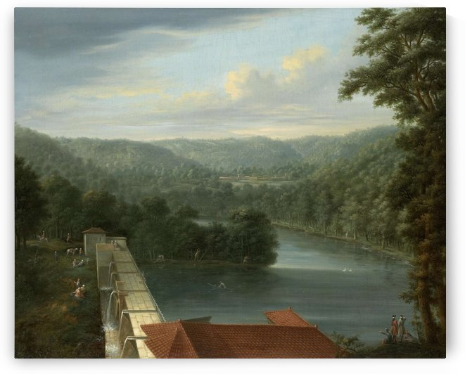 The Water Reservoirs by Jean Baptiste Vanmour