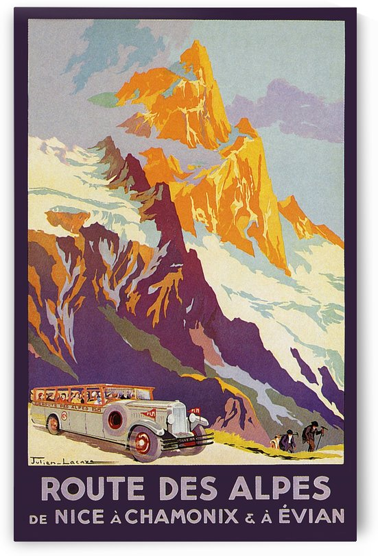 Alps Route by vintagesupreme