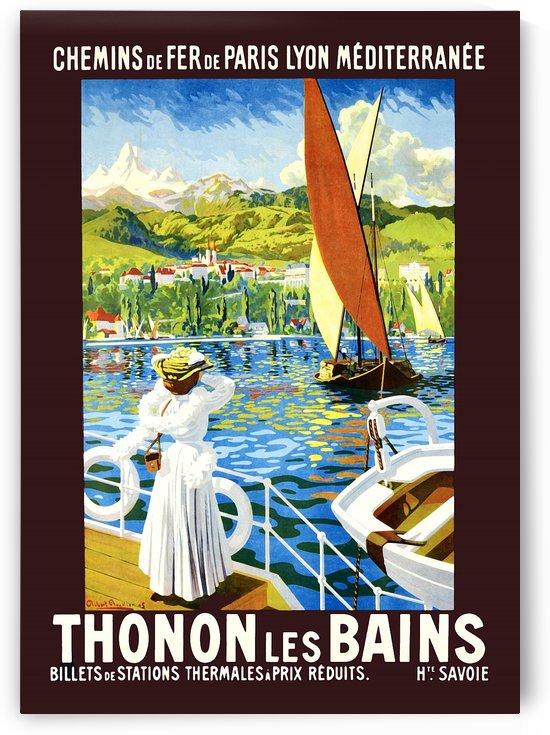 Thonon Les Bains Coast by vintagesupreme