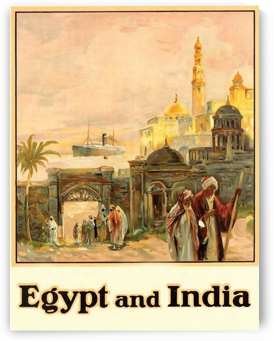 Egypt and India by vintagesupreme