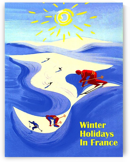 Winter Holidays in France by vintagesupreme