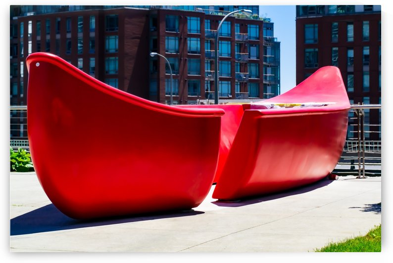 Red Canoe by MumbleFoot