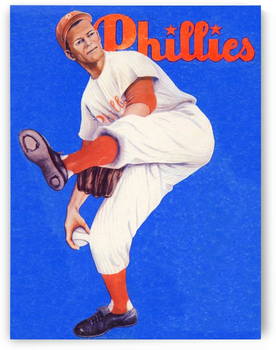 Vintage Phillies Poster Gift ideas by Row One Brand