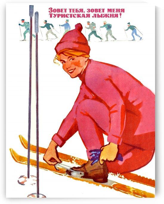 Ski Track Is Calling You by vintagesupreme