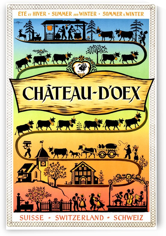 Chateau d Oex by vintagesupreme