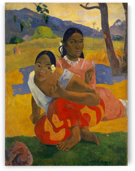 Paul Gauguin: When Will You Marry HD 300ppi by Famous Paintings
