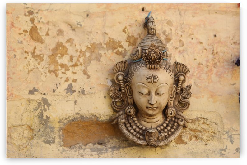 Mask Jaisalmer Fort 8311 by Move-Art