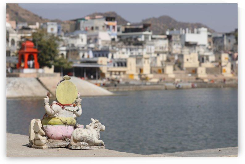 Pushkar India Rajasthan Skulpture 1017 by Move-Art