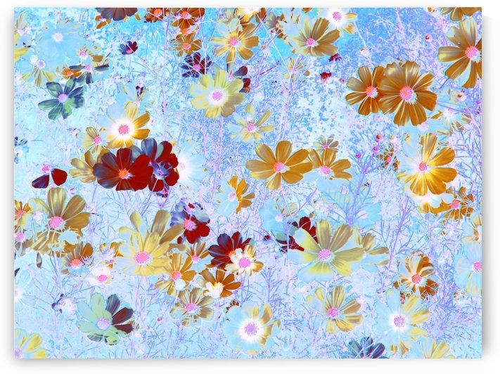 Cosmos Flowers Garden by CvetiArt