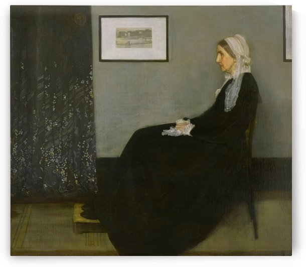 James McNeill: Whistlers Mother HD 300ppi by Stock Photography