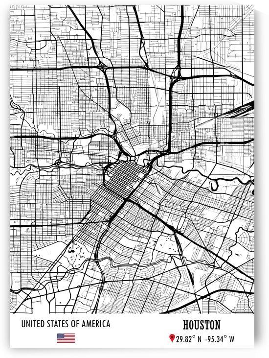 Houston USA by Artistic Paradigms