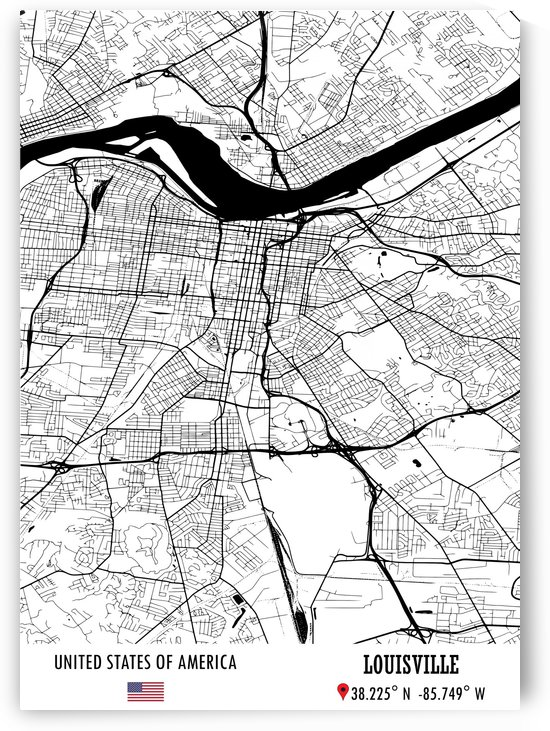 Louisville USA by Artistic Paradigms