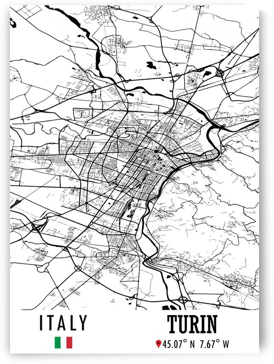 Turin ITALY by Artistic Paradigms