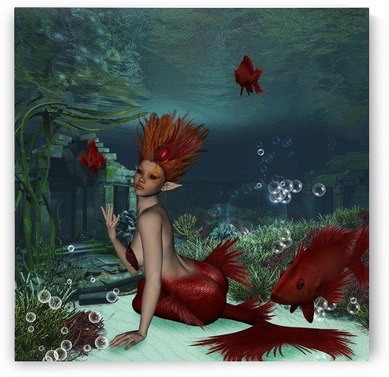 Wonderful mermaid by nicky2342