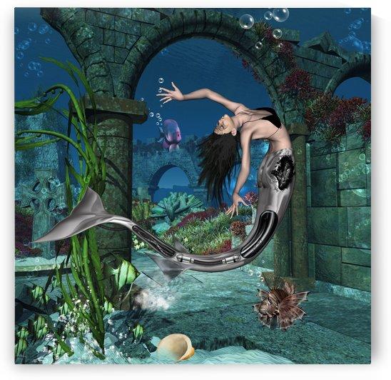 Beautiful mermaid by nicky2342