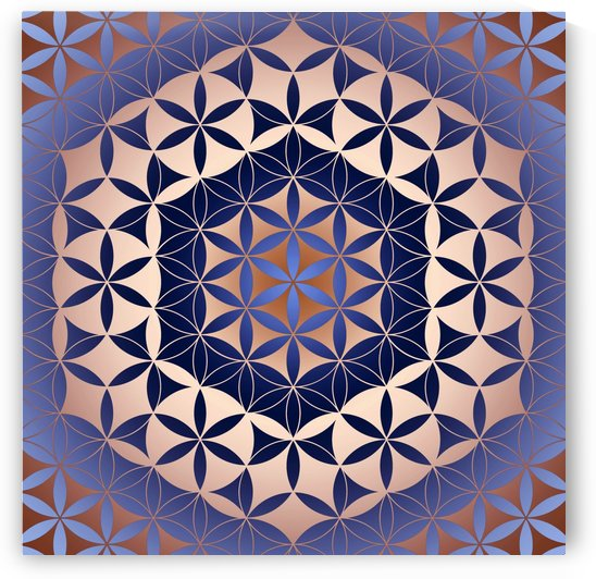 Flower of Life Mandala Pattern by CvetiArt