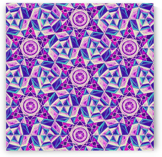 sacred Geometry Kaleidoscope Handdrawing by CvetiArt