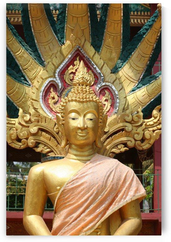 Golden Buddha - Laos  5761 by Move-Art