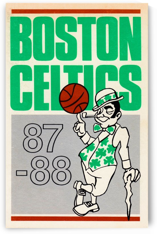 1987_National Basketball Association_Boston Celtics_Boston Garden by Row One Brand