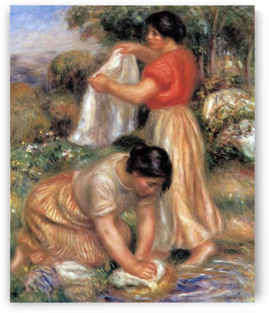 Laundresses 2 by Renoir by Renoir