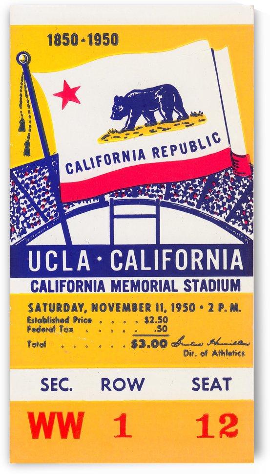1950_College_Football_California vs. UCLA_California Memorial Stadium by Row One Brand