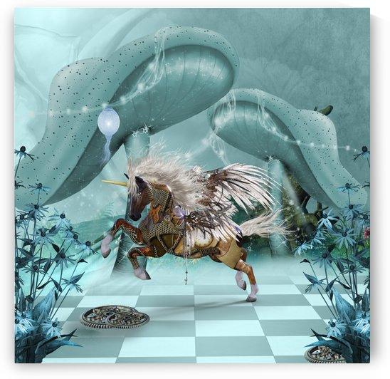Amazing steampunk unicorn by nicky2342