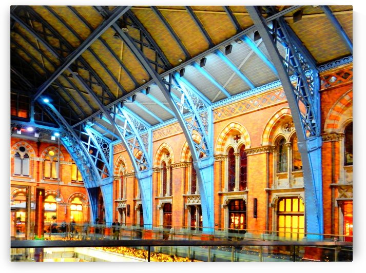 St Pancras Station by Dorothy Berry-Lound
