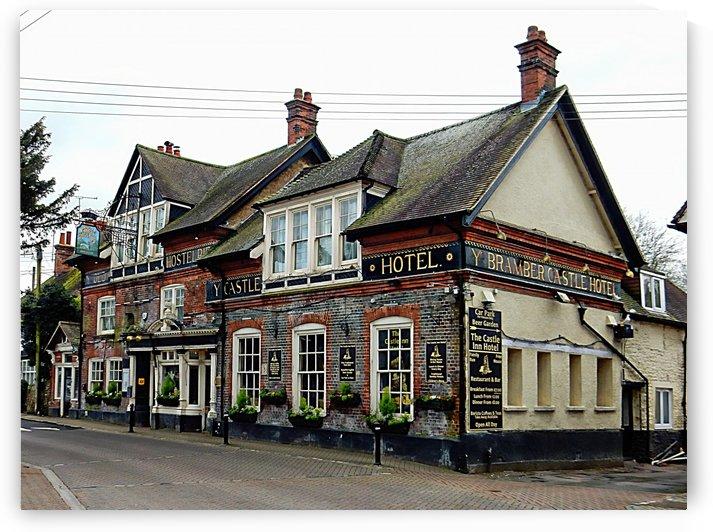 Castle Inn Hotel Bramber by Dorothy Berry-Lound