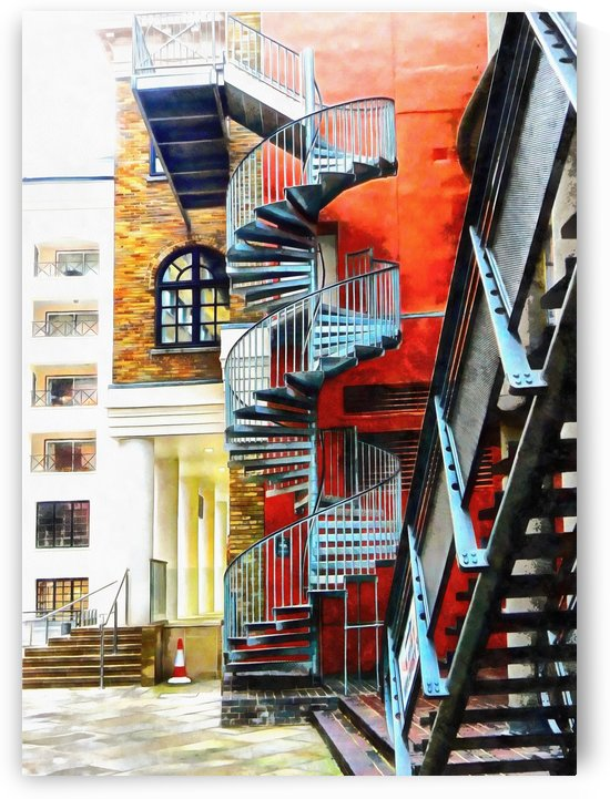 Staircase Contrasts by Dorothy Berry-Lound