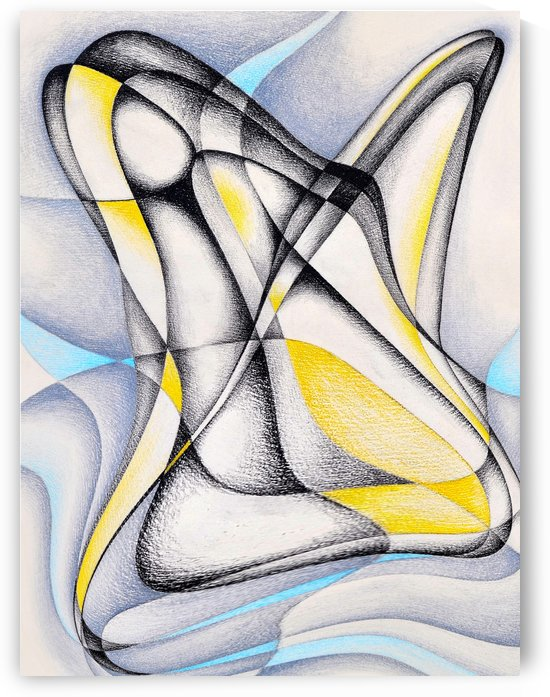 ABSTRATO COLOR 60X80 by Uillian Rius