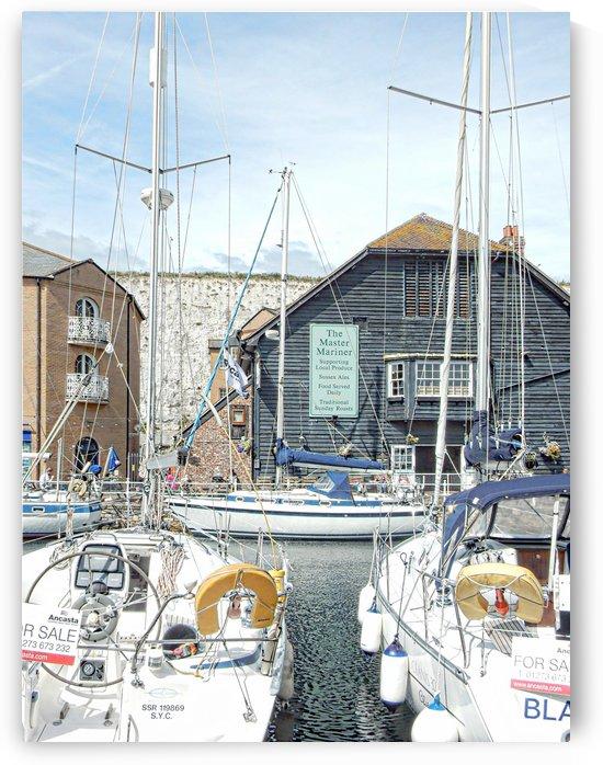 The Master Mariner Brighton Marina by Dorothy Berry-Lound