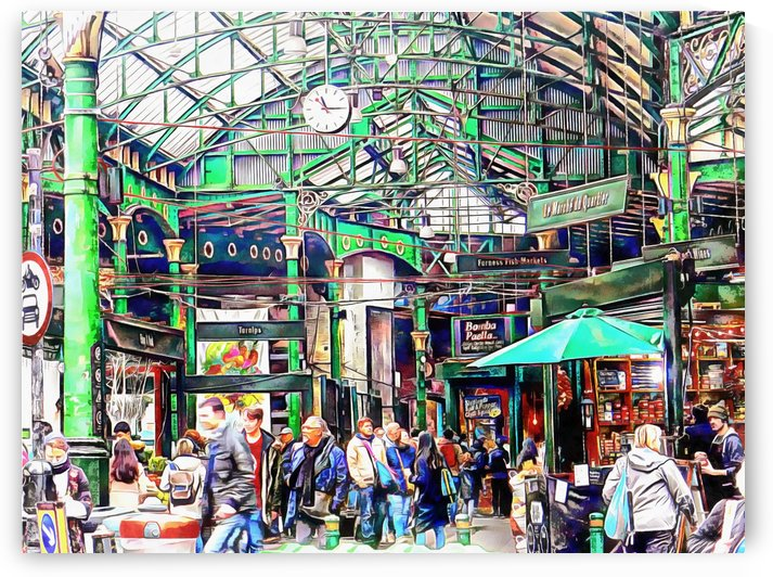 Borough Market London by Dorothy Berry-Lound
