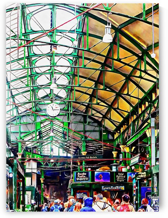 Roof Over Borough Market by Dorothy Berry-Lound