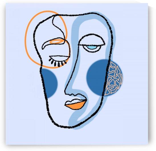 Blue by FatmaALTubi