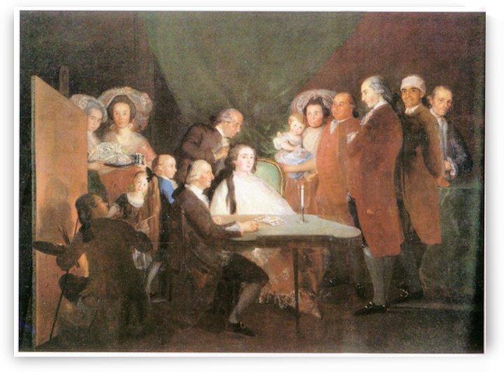 La_famille_de_l_infant_Don_Louis_1783 by Goya by Goya