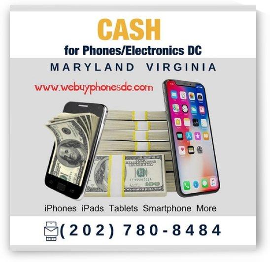 we buy phones washington dc maryland virginia by sellmyphone