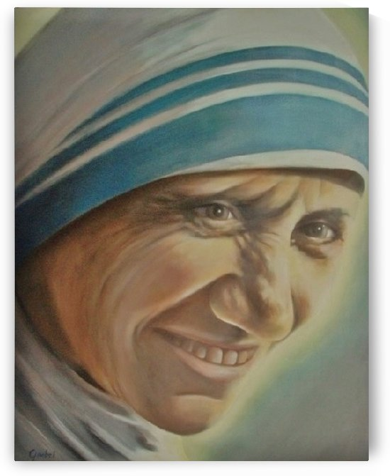 Mother Teresa (c) by Bill Gimbel