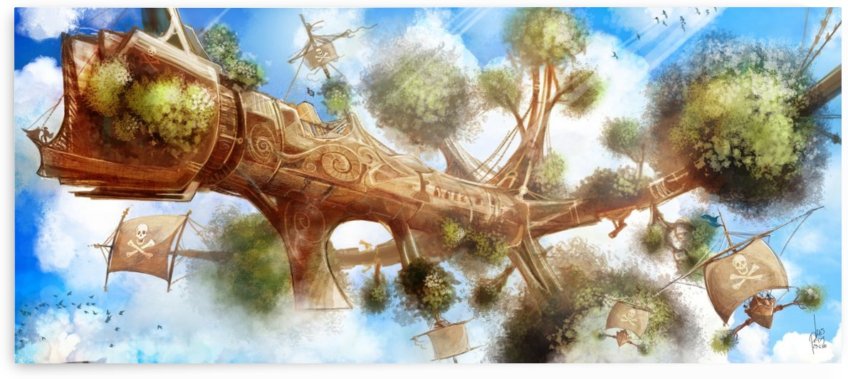 Tree Ship by Luis F  Peres