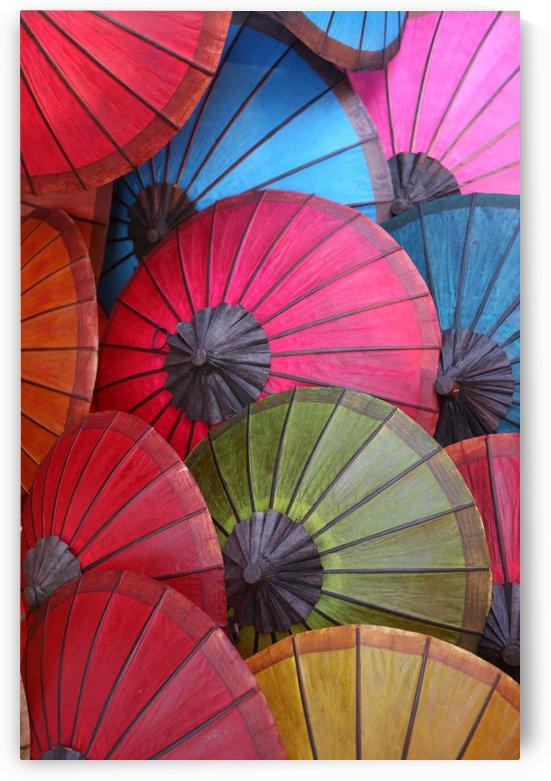 Colorful Umbrellas Laos 6966 by Move-Art